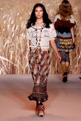 Anna Sui S/S 2011 : Liu Wen