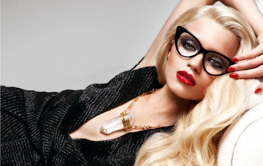 Tom Ford Eyewear S/S 2011:Abbey Lee