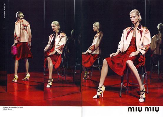 miu miu S/S 2011 : Kasia Struss