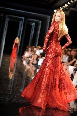 Elie Saab Haute Couture F/W 2010:Karolina Kurkova