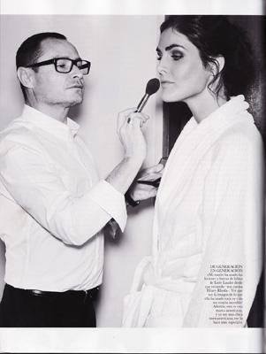Vogue Spain April 2011 - Hilary Rhoda