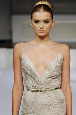 Oscar de la Renta S/S 2011 : Lily Donaldson