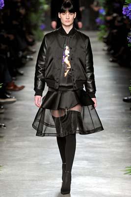 Givenchy F/W 2011 - Querelle Jansen