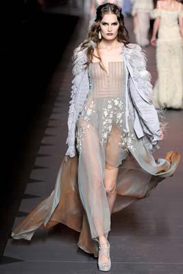 Christian Dior F/W 2011 - Alla Kostromichova