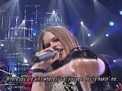 Avril上日本music station