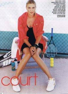 Teen Vogue Maria Sharapova