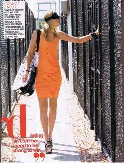 Teen Vogue Maria Sharapova