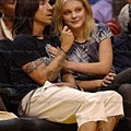 Jessica Stam and Anthony Kiedis