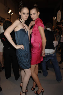 Coco Rocha and Bette Franke