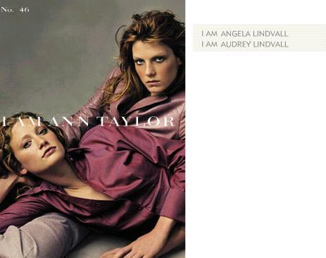 Audrey Lindvall & Angela Lindvall