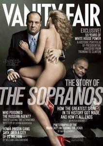 Vanity Fair 2007/04 The Sopranos