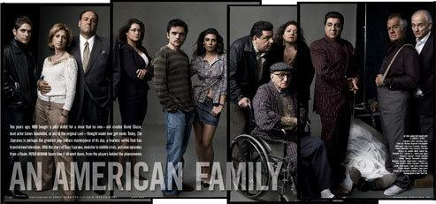 Vanity Fair 2007/04 The Sopranos