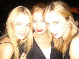 Caroline、Doutzen、Raquel