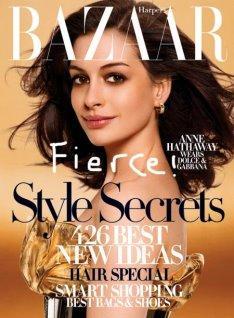 Harper's Bazaar  2007/07 -   Anne Hathaway