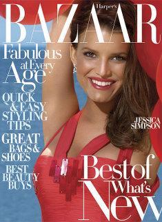 Harper's Bazaar 2007/08 - Jessica Simpson