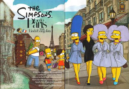 Harper's Bazaar  - The Simpsons