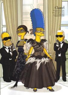 Harper's Bazaar  - The Simpsons