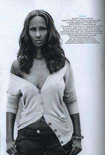 Marie Claire - Iman
