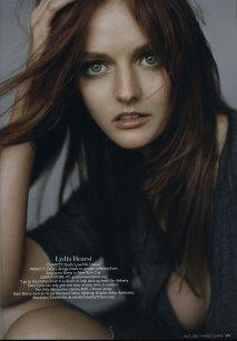 Marie Claire - Lydia Hearst.