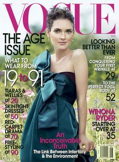 VOGUE 2007/08 - Winona Ryder