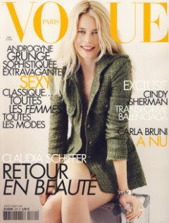 VOGUE Paris 2007/08 - Claudia Schiffer