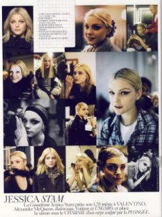 VOGUE Paris - Jessica Stam