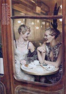 VOGUE - Sasha Pivovarova & Gemma Ward