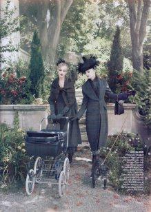 VOGUE - Caroline Trentini & Agyness Deyn