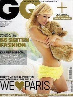 GQ German 2007/09 - Paris Hilton