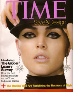 Time Style&Design 2007 Fall - Hilary Rhoda
