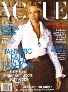 VOGUE 2007/10 - Charlize Theron