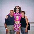 Coco Rocha 與父母