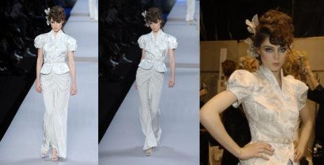 Christian Dior 2008 s/s - Coco Rocha