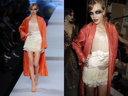 Christian Dior 2008 s/s - Siri Tollerod