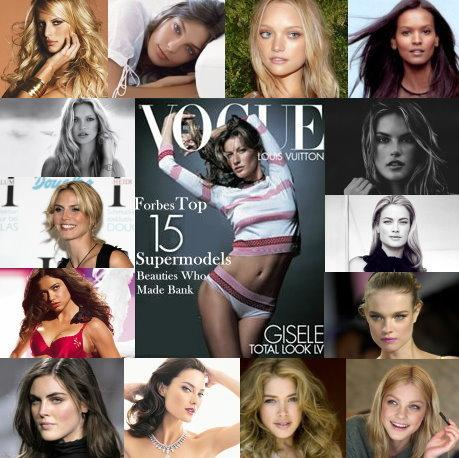 Forbes Top 15 Supermodels