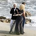 Chanel - Claudia Schiffer & Karl Lagerfeld