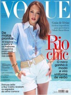 VOGUE Brazil 2007/11 - Isadora di Domenico
