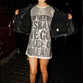 British fashion Awards - Agyness Deyn