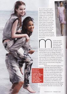 Chanel Iman and Ali Michael