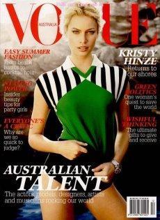 VOGUE Australia 2007/12 - Kristy Hinze