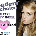 MAGstyle readers' choice fave new model - Siri Tollerød