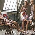 Dolce & Gabbana  2008 s/s - Jessica Stam、Gemma Ward、Lily Donaldson