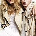 Burberry 2008 s/s - Agyness、Lily D..