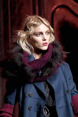 Christian Dior F/W 2011 - Anja Rubik