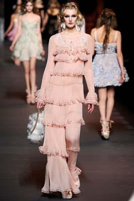 Christian Dior F/W 2011 - Toni Garrn