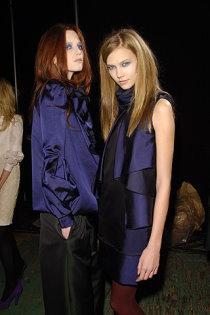 Alice Burdeu with Karlie Kloss