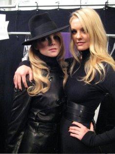 Caroline Trentini & Heather Marks