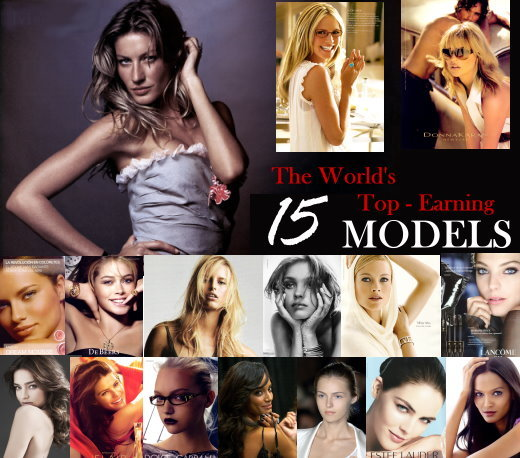 Forbes the world's top earning 15 models