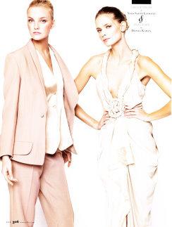 ELLE 2008/05 - Caroline Trentini、Julia Stegner