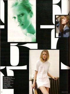 Vogue Germany 2008/6 - Toni Garrn